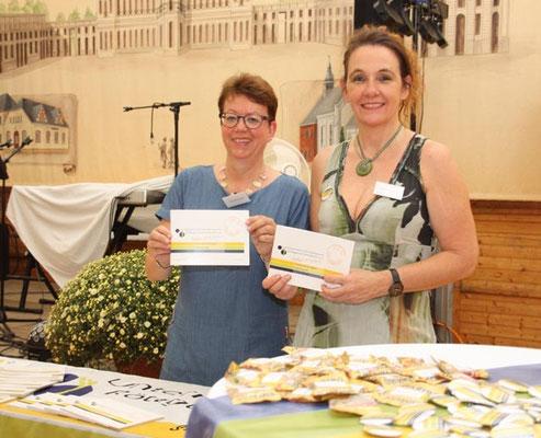 dieses Foto zeigt Frau Mellinghoff und Frau Bierikoven